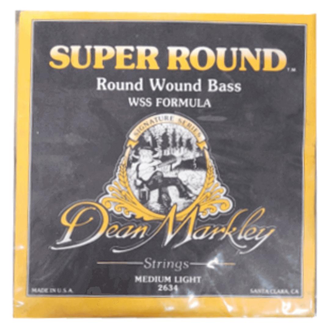 Encordoamento Contrabaixo Eletrico 4 cordas - Super Round