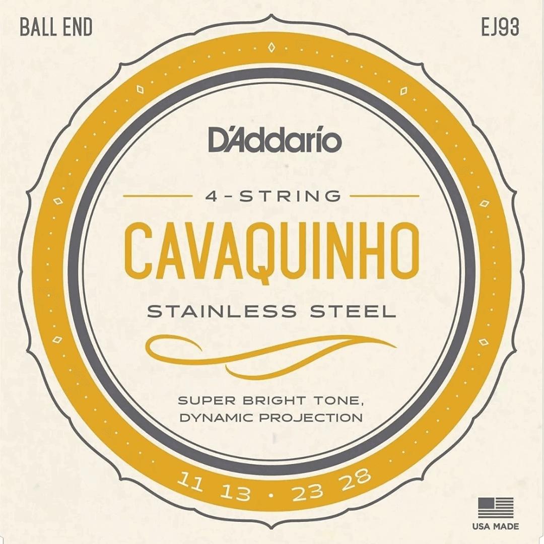 Encordoamento Cordas Cavaco Cavaquinho D'addario - EJ93