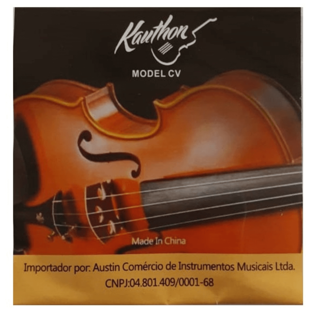Encordoamento Kauthon CV para violino