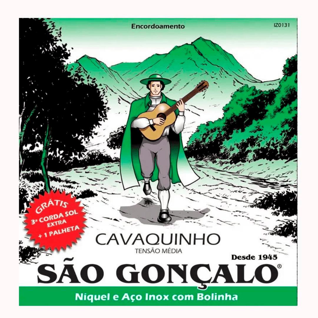 Encordoamento para Cavaco São Gonçalo Niquel com Bolinha 131