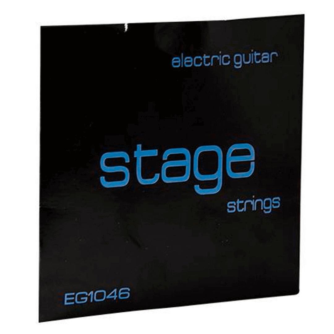 Encordoamento Para Guitarra Stage EG1046