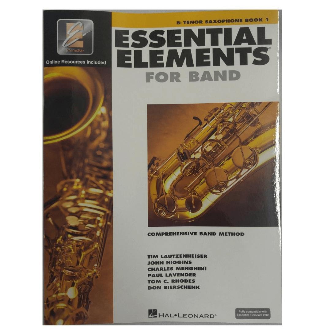 Essential Elements for Band Bb Tenor Saxophone Book 1 ( Para Sax Tenor) HL00862573
