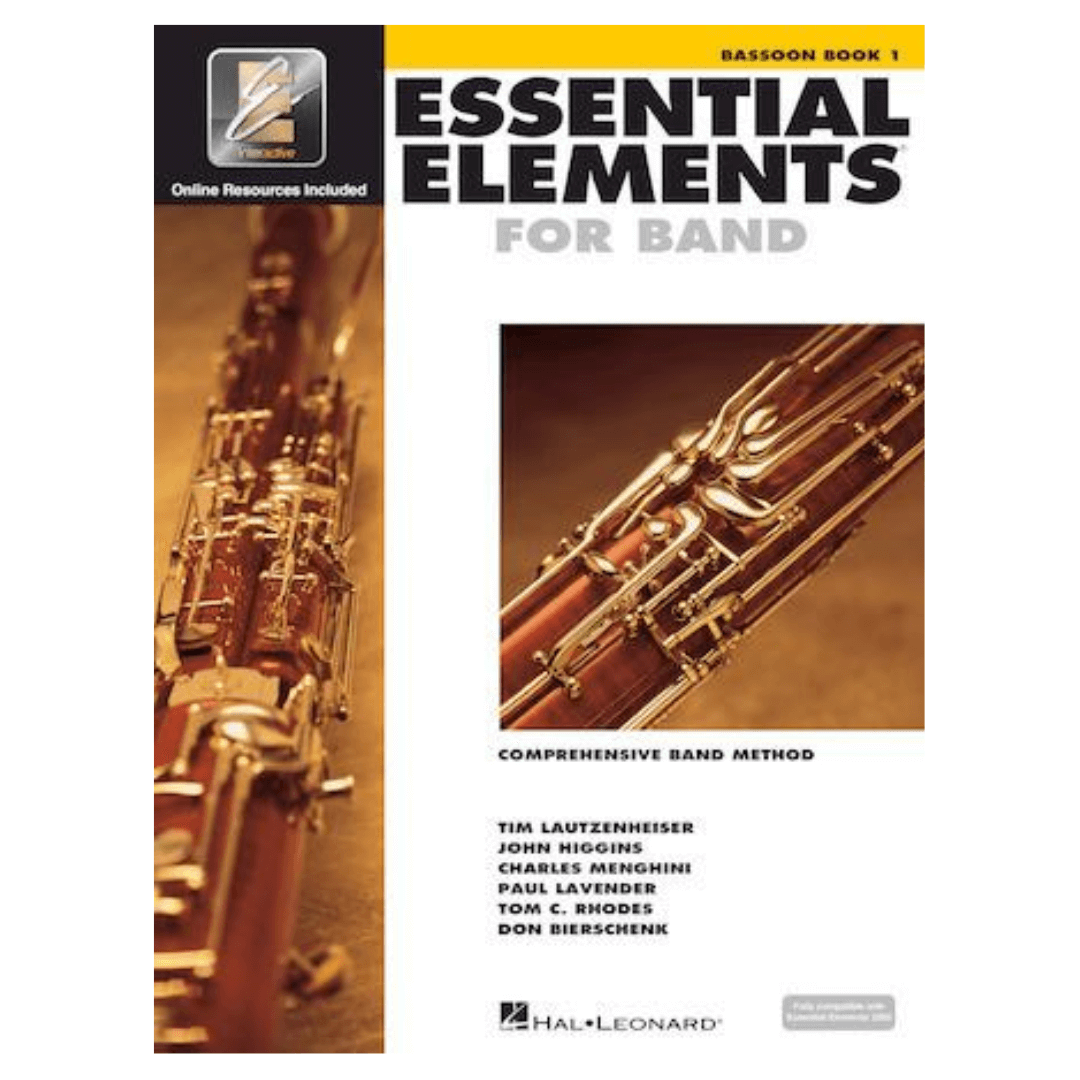 Essential Elements for Band Comprehensive Band Method Bassoon Book 1 - Fagote HL00862568