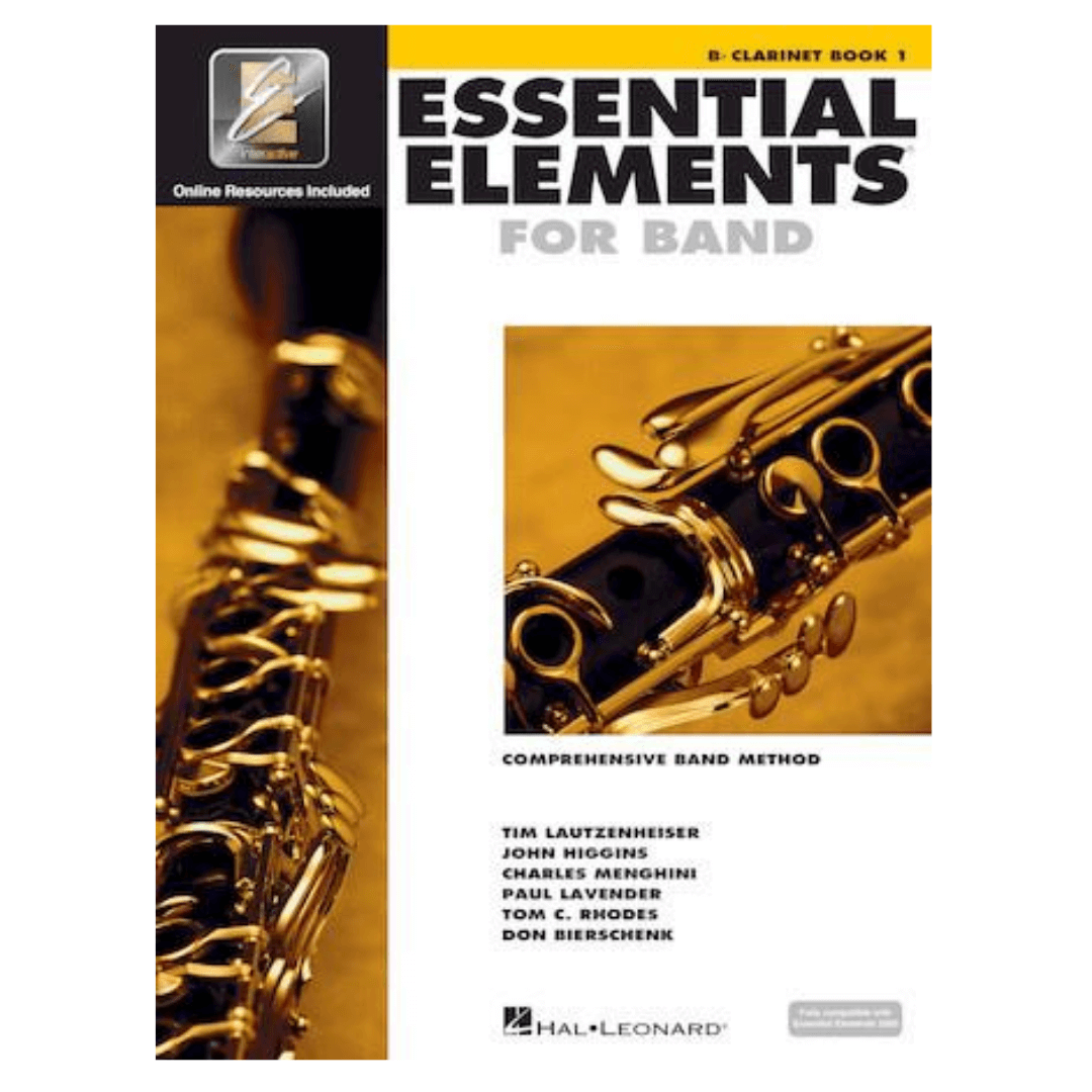 Essential Elements for Band Comprehensive Band Method Bb Clarinet Book 1 Método para Clarinete - HL00862569
