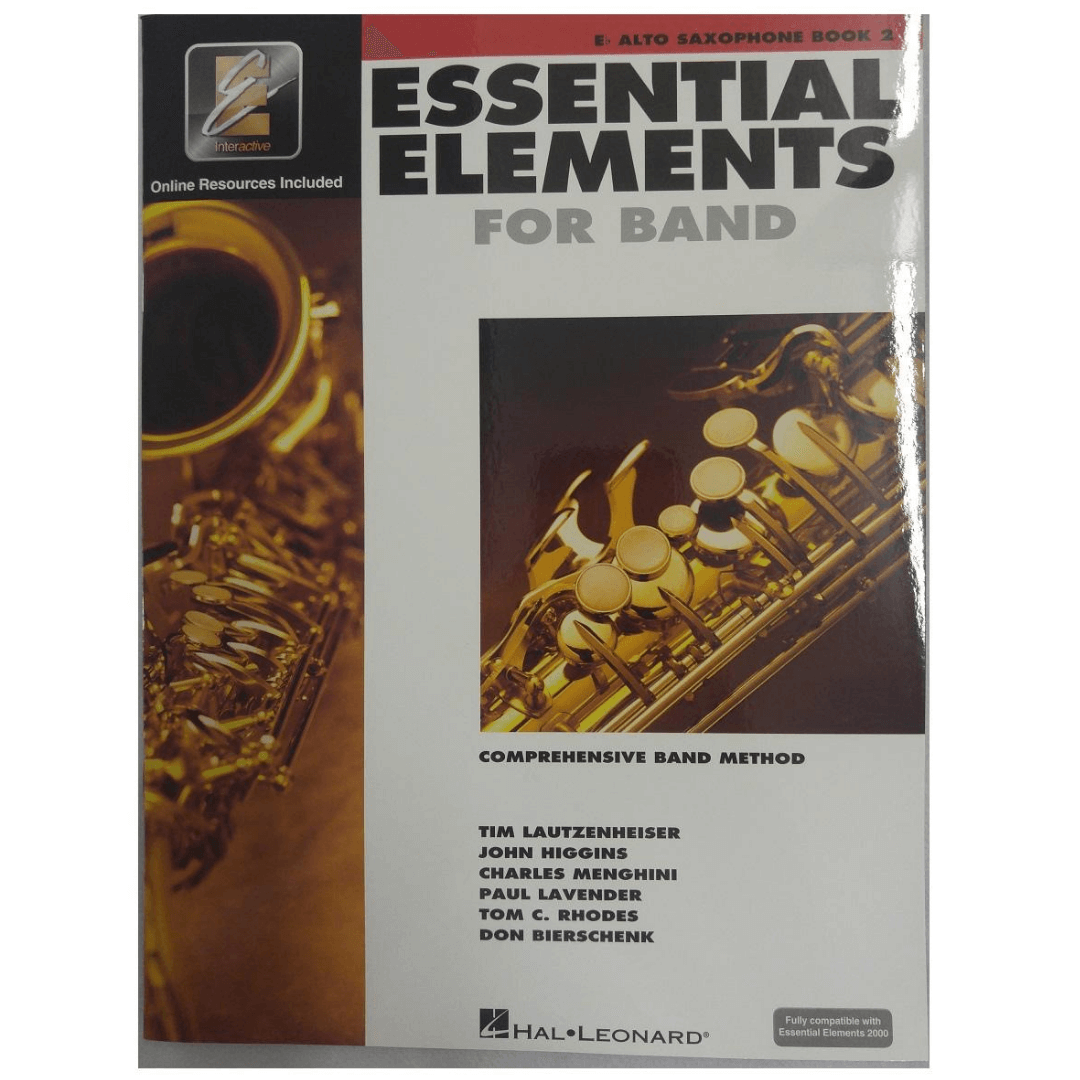 Essential Elements for Band Eb Alto Saxophone Book 2 ( Para Sax Alto) HL00862594