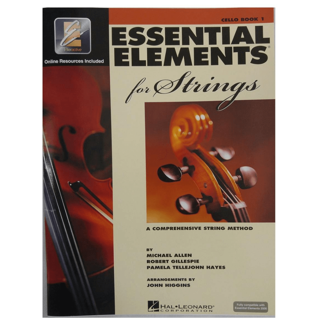 Essential Elements for Strings: A Comprehensive String Method, Cello Book 1 - HL00868051