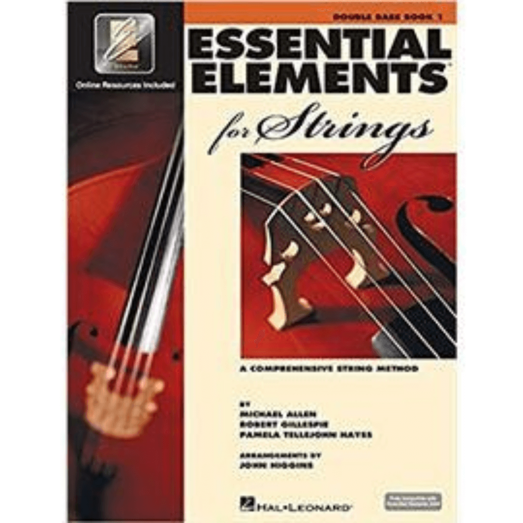 Essential Elements for Strings - Double Bass Book 1 (A Comprehensive String Method) HL00868052