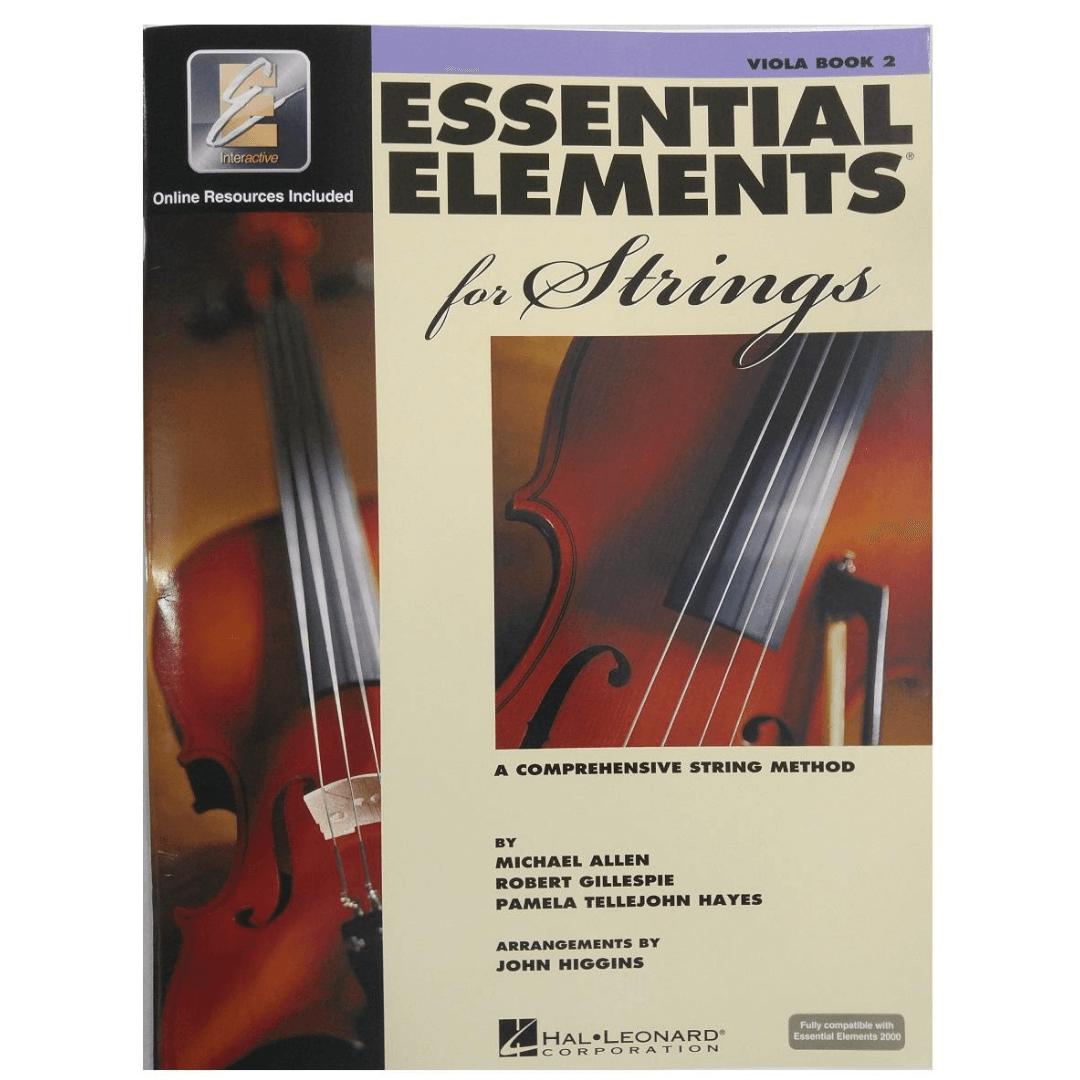 Essential Elements for Strings - Viola Book 2 - Um método abrangente de cordas HL00868058