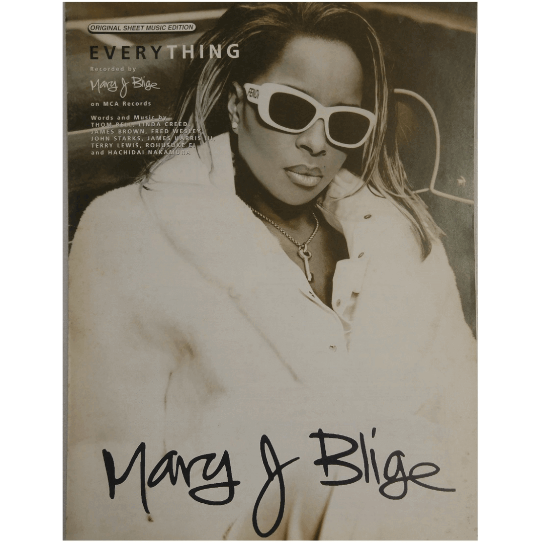Every Thing Recorded by Mary J Blige on MCA Records PV97181
