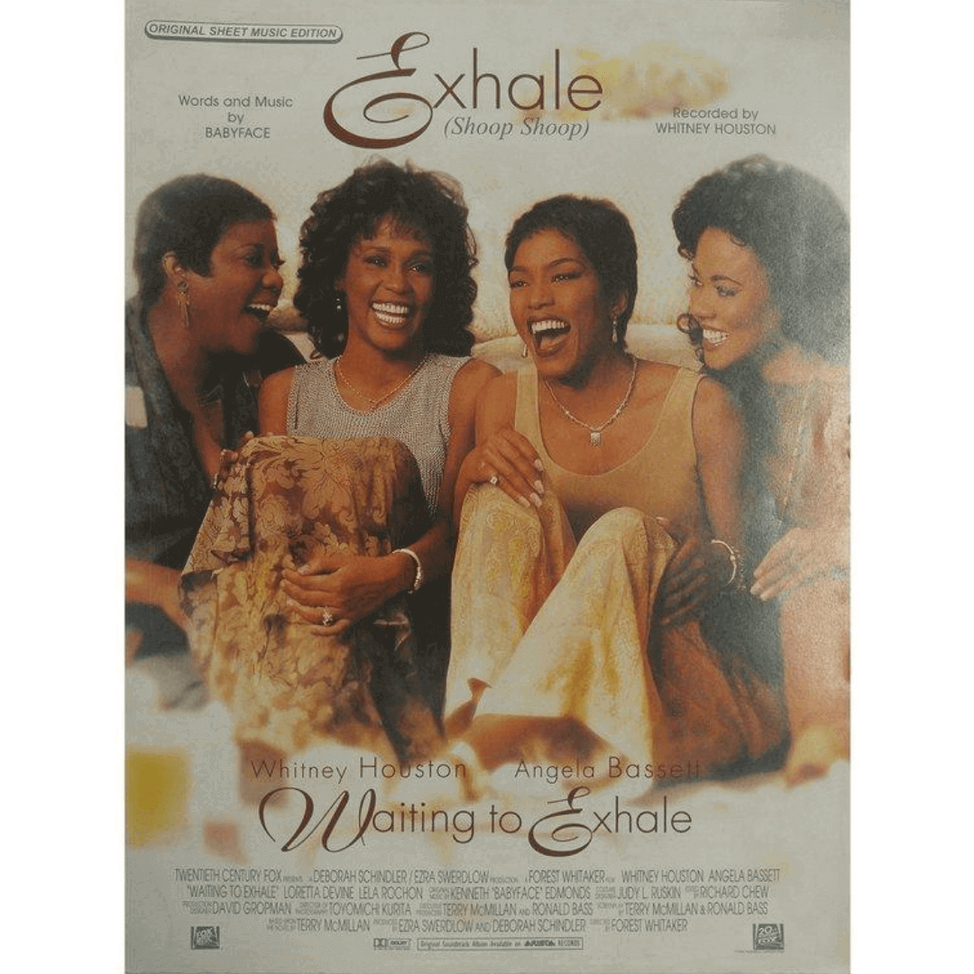 Exhale ( Shoop Shoop ) Words and Music by Babyface - Recorded by Whitney Houston - PV95250