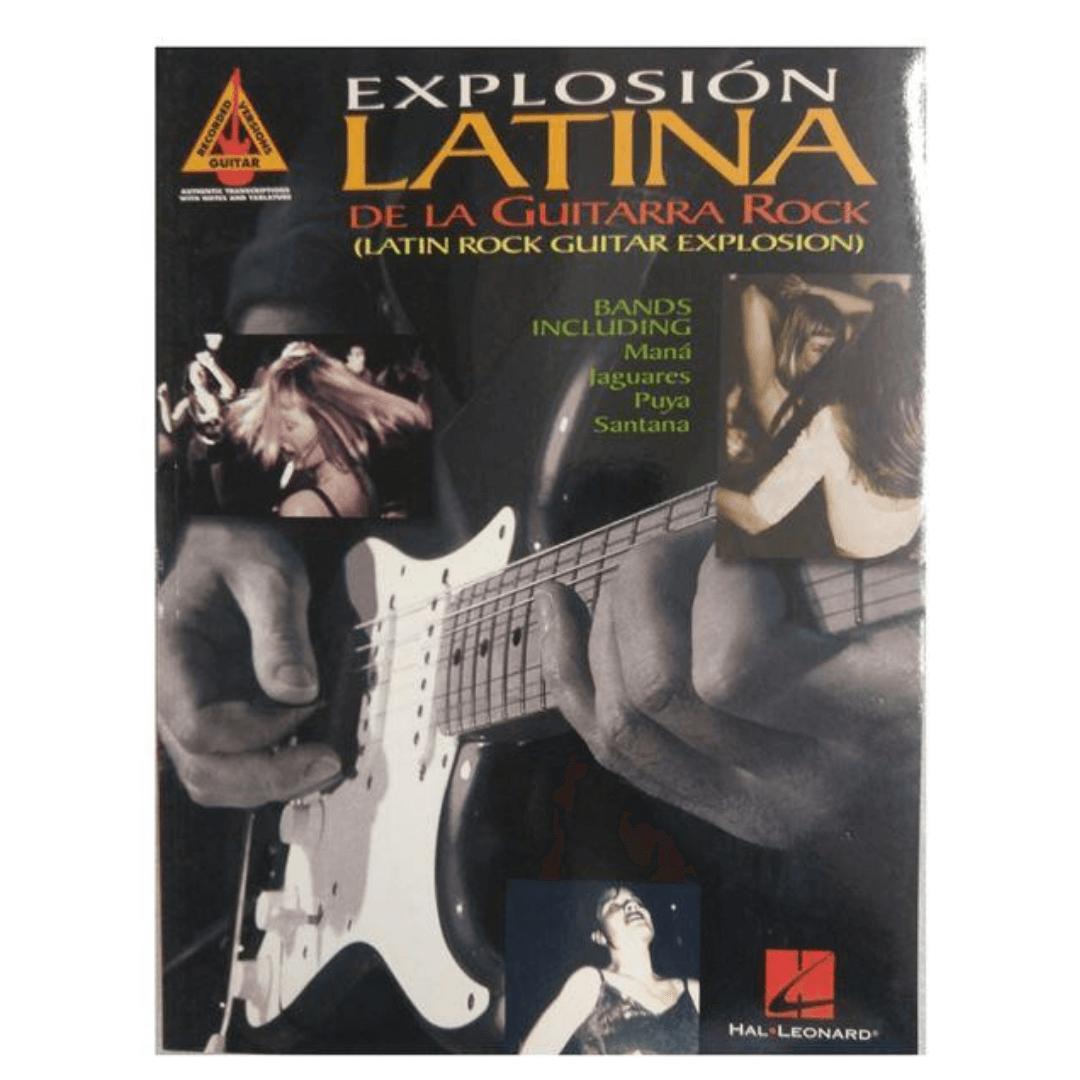 Explosión Latina de La guitarra rock (latin rock guitar explosion) (guitar recorded versions)
