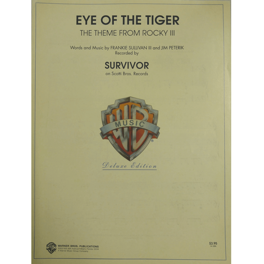 Eye Of The Tiger - The Theme From Rocky III - Survivor on Scotti Bros. Records - VS1731