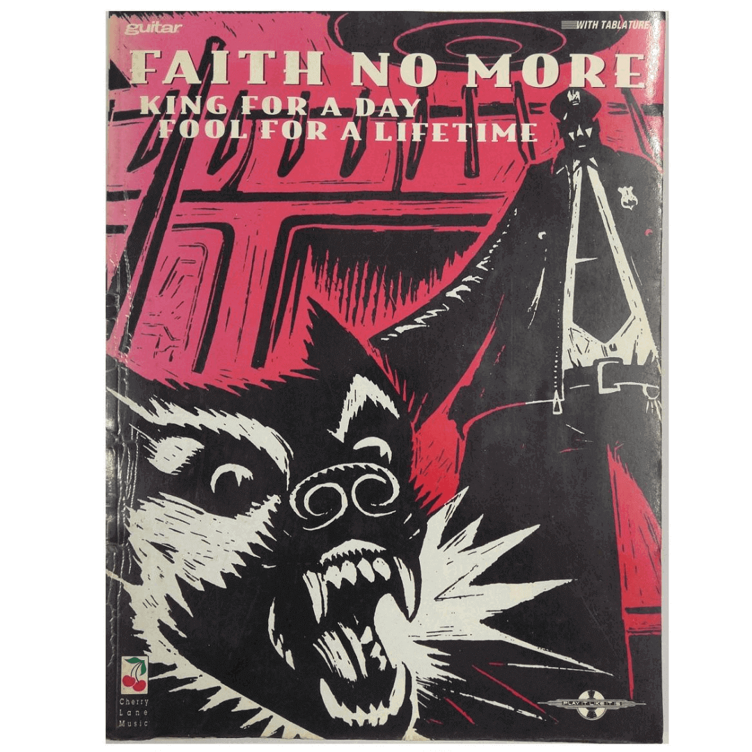 Faith No More - King for a Day, Fool for a Lifetime - Guitar/Vocal 02501257
