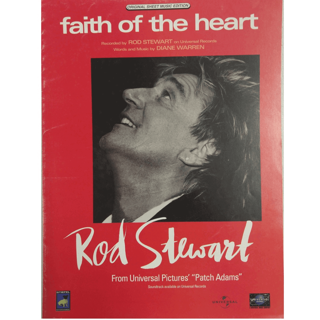 Faith Of The Heart Recorded by Rod Stewart on Universal Records PV9901