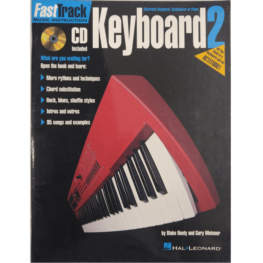 FastTrack Keyboard 2 All you Need is a Keyboard and an Atitude! HL00697293