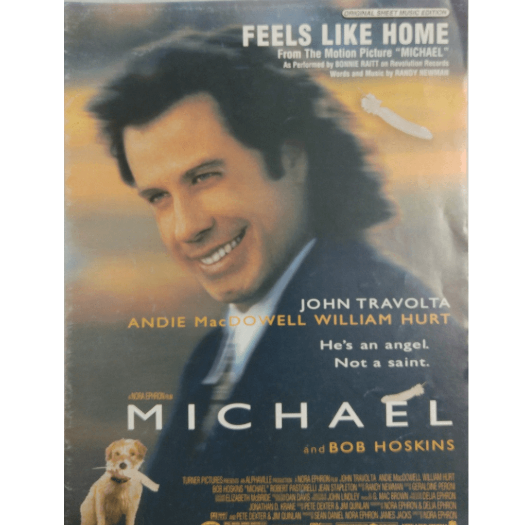 """Feels Like Home - From The Motion Picture """" Michael """" / John Travolta PV9730"""