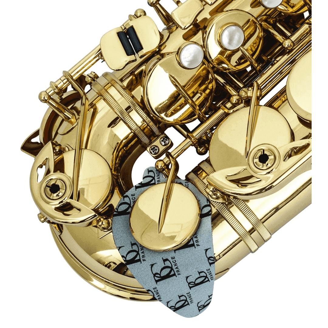 Flanela Secadora Para Sapatilhas De Saxofone BG A65S