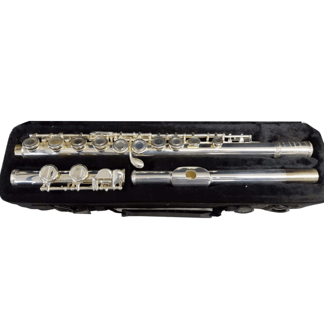 Flauta Transversal Conductor M1116S Prateada