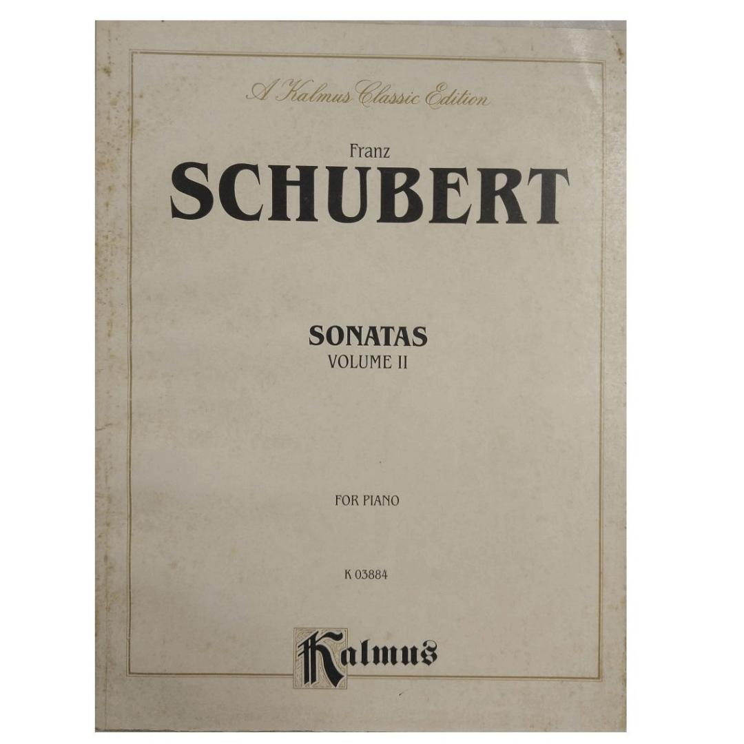 Franz Schubert Sonatas Volume II for Piano K 03884 Kalmus