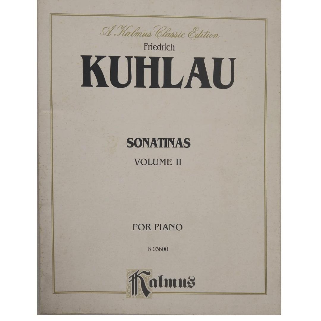 Friedrich Kuhlau Sonatinas Volume II for Piano K03600 Kalmus