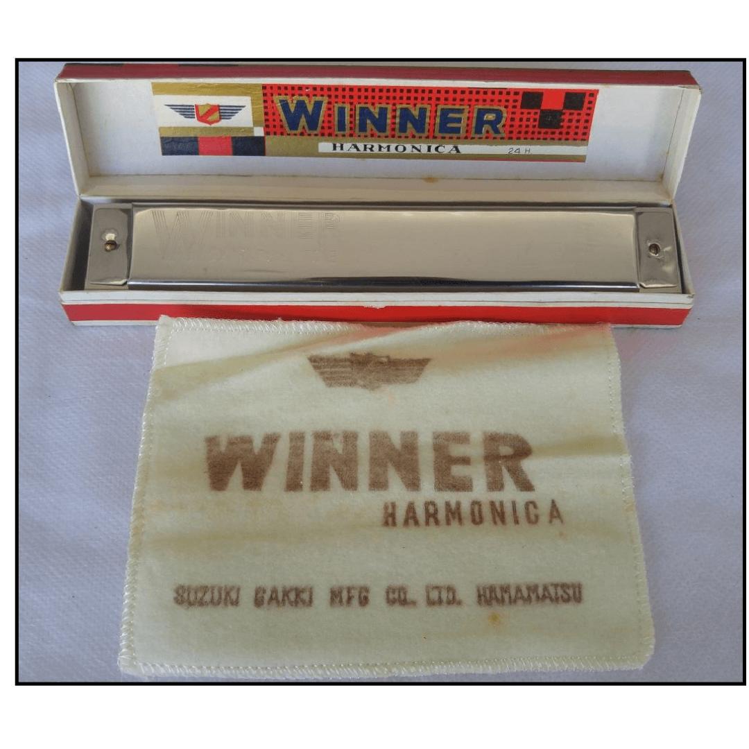 Gaita Harmônica Winner Extrafull Tone - 24 Holes - Suzuki 2402 ( C ) Dó