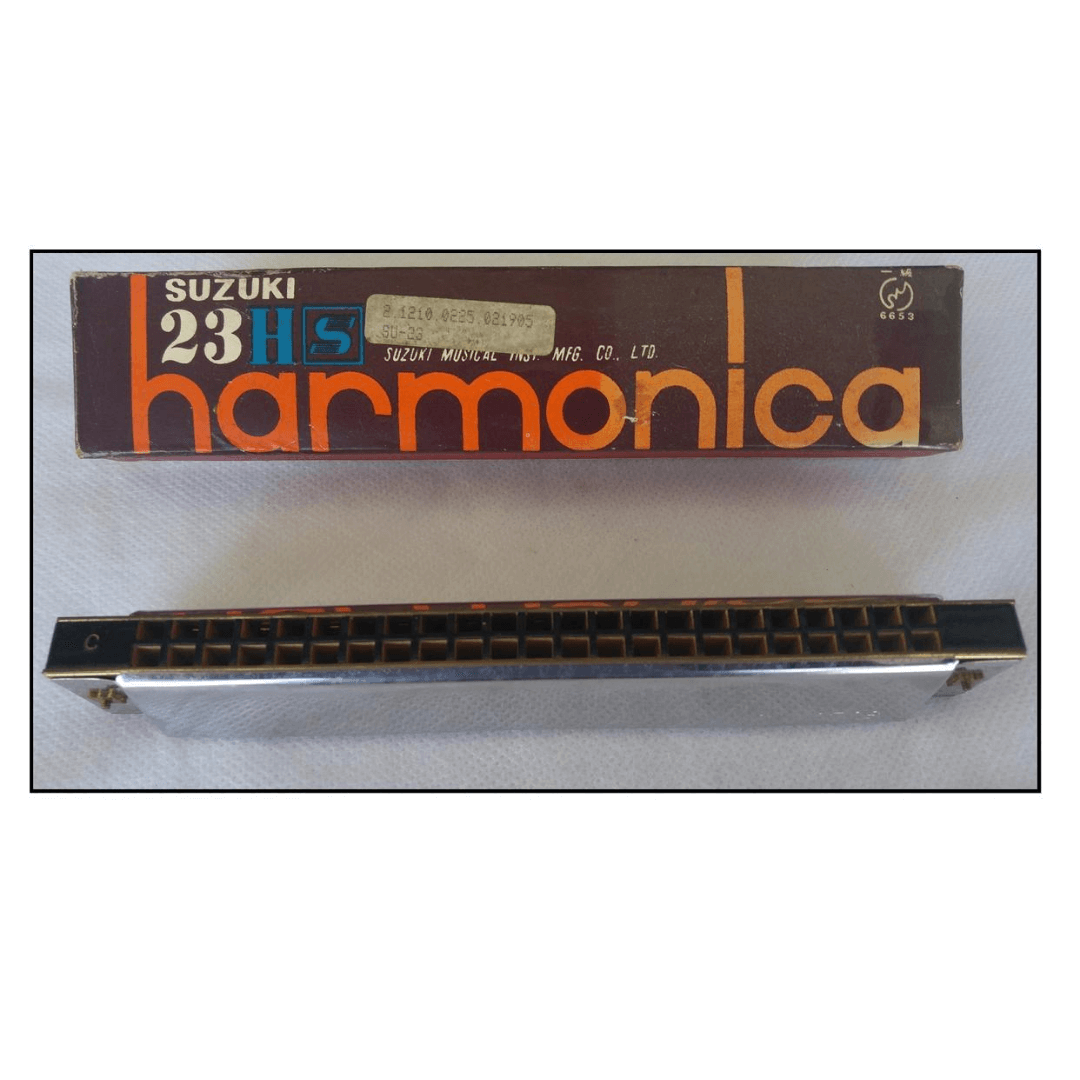 Gaita Suzuki Harmonica 23HS - Suzuki Gakki SU23 ( C ) Dó