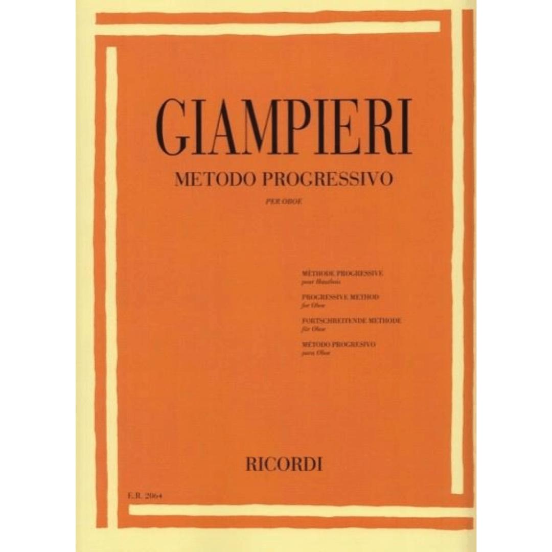 Giampieri - Método Progressivo Para Oboé - Er2064