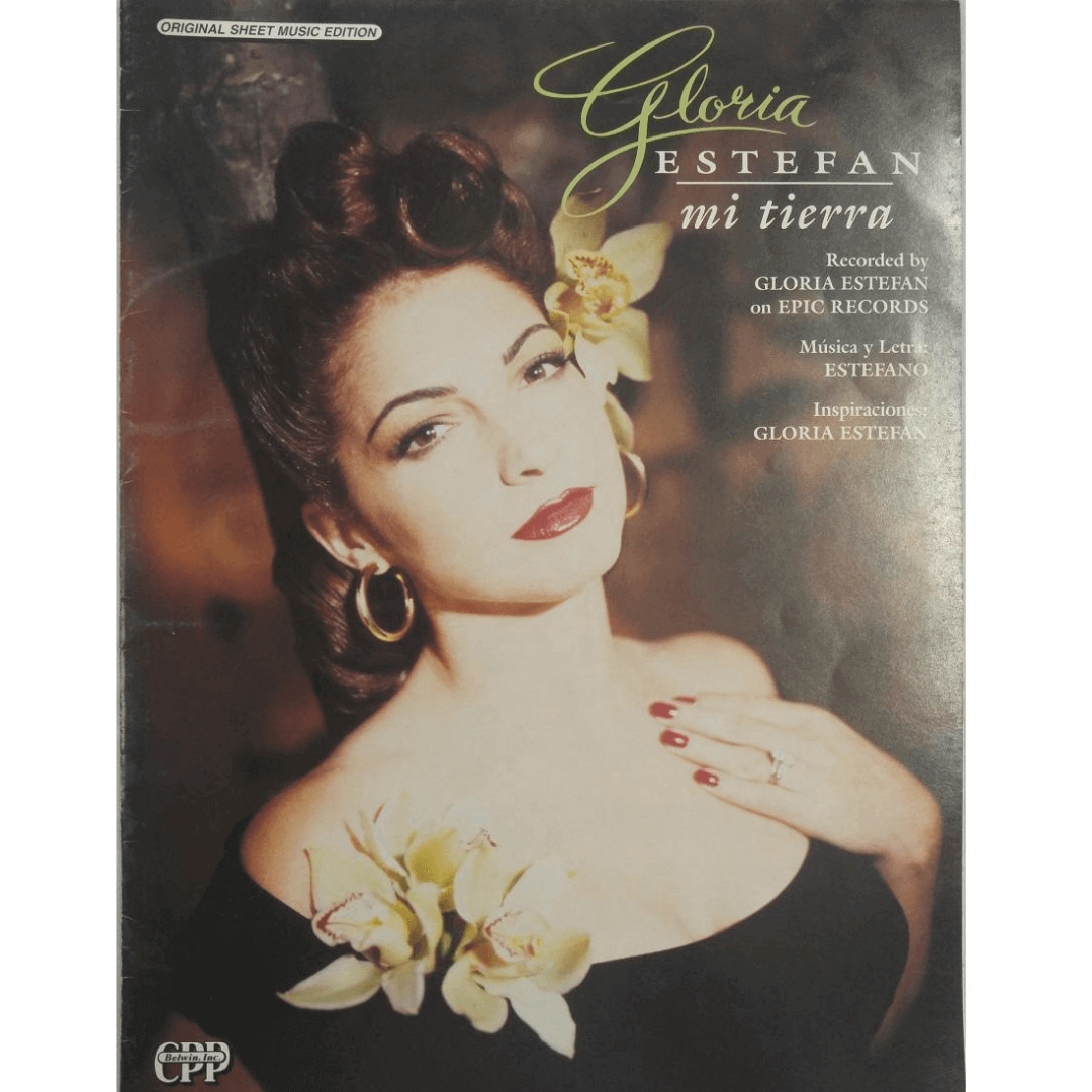 Gloria Estefan Mi Tierra - Recorded by Gloria Estefan on Epic Records 2984MSMX