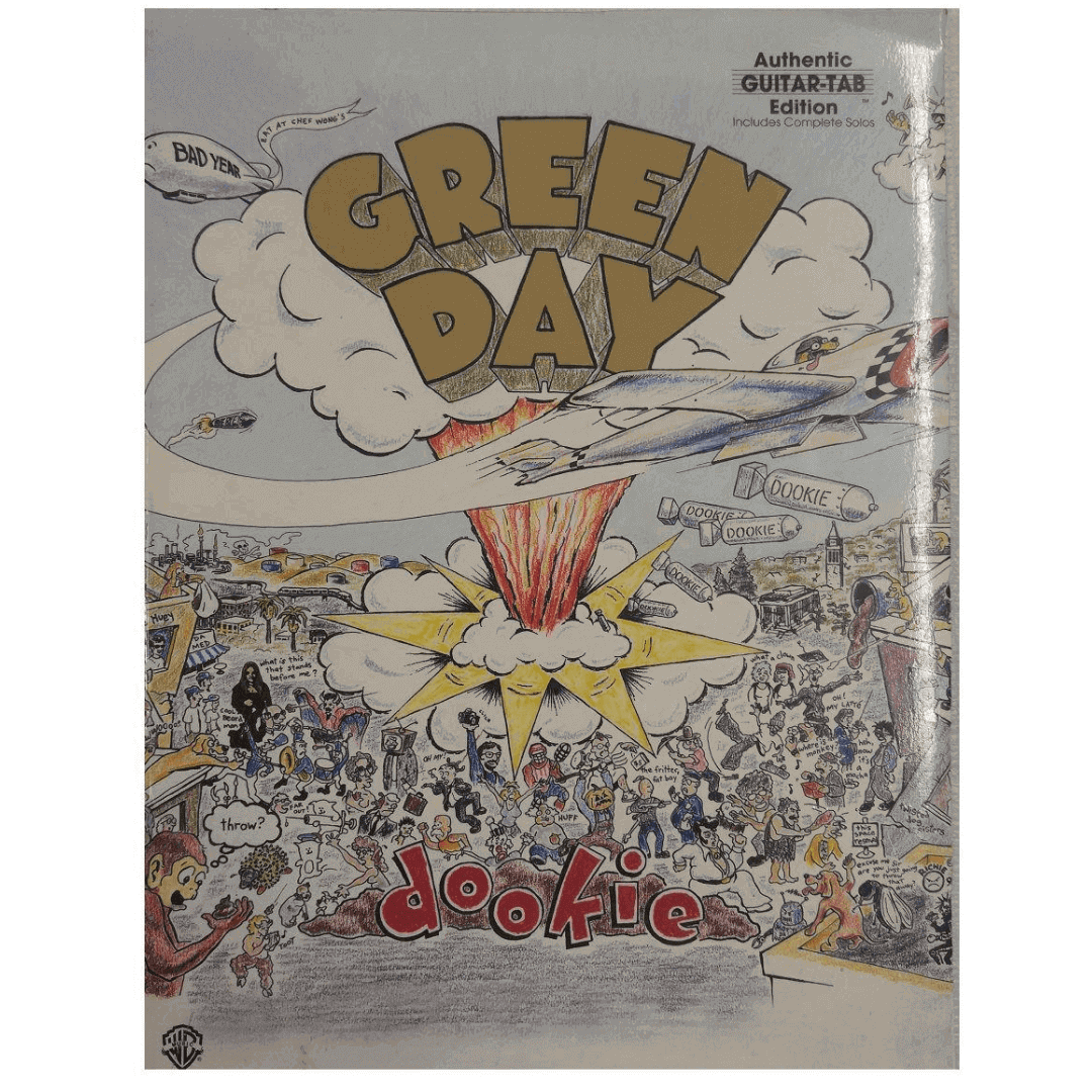 Green Day - Dookie (Authentic Guitar-Tab Edition) inclui solos completos - GF0663