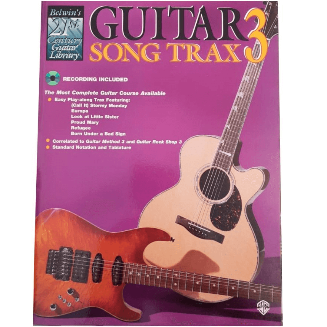 Guitar Song Trax 3 - Belwin's 21st Century - CD - EL03850CD