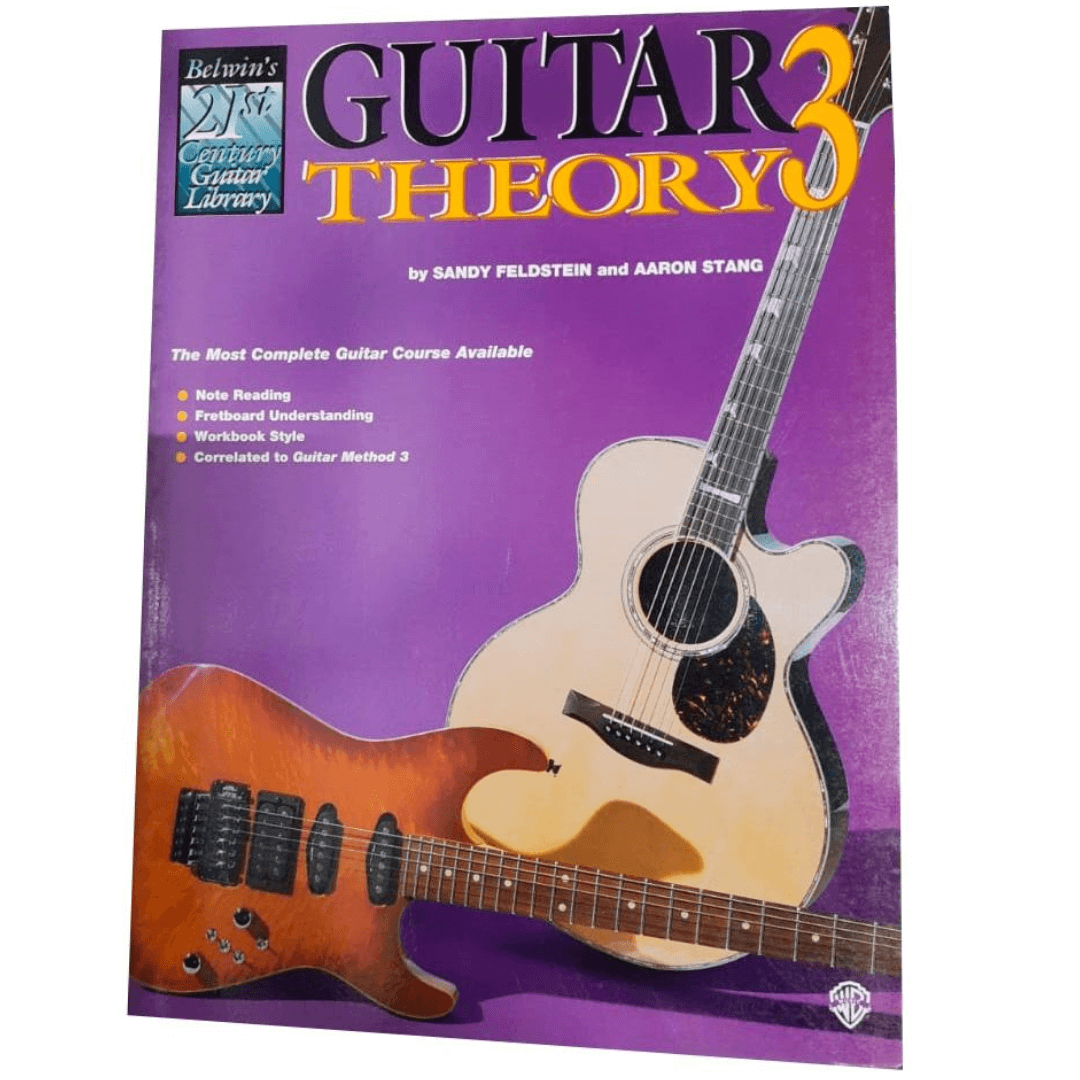 Guitar Theory 3 by Sandy Feldstein and Aaron Stang - 21st Century Guitar Library - EL03847