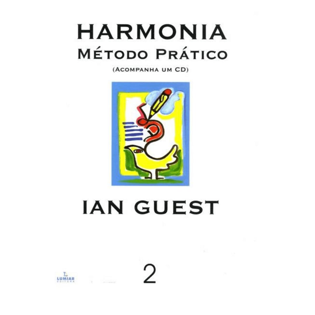 Harmonia método prático - vol. 2 ian guest - acompanha cd - hemp2