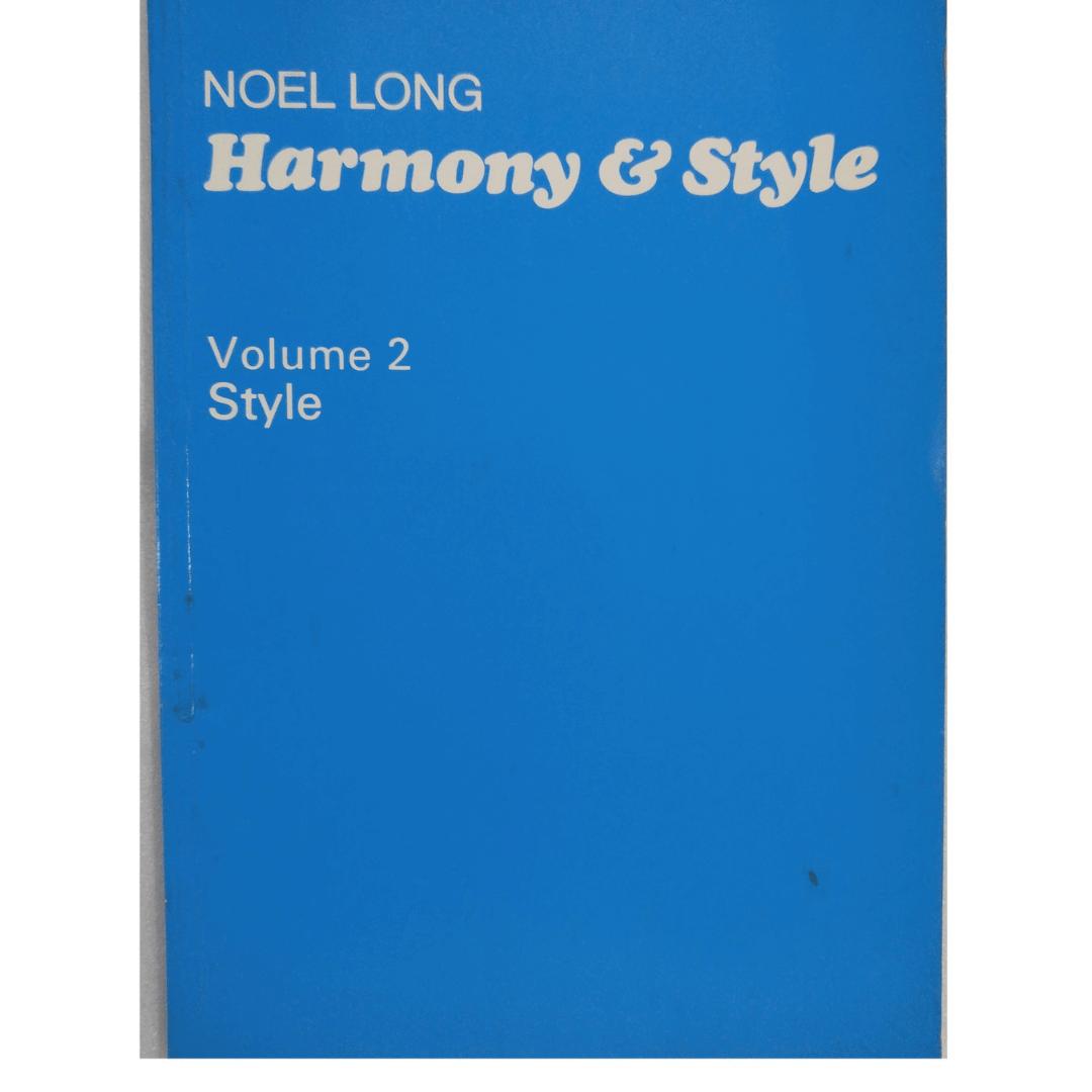 Harmony e Style - Noel Long - Volume 2 Style