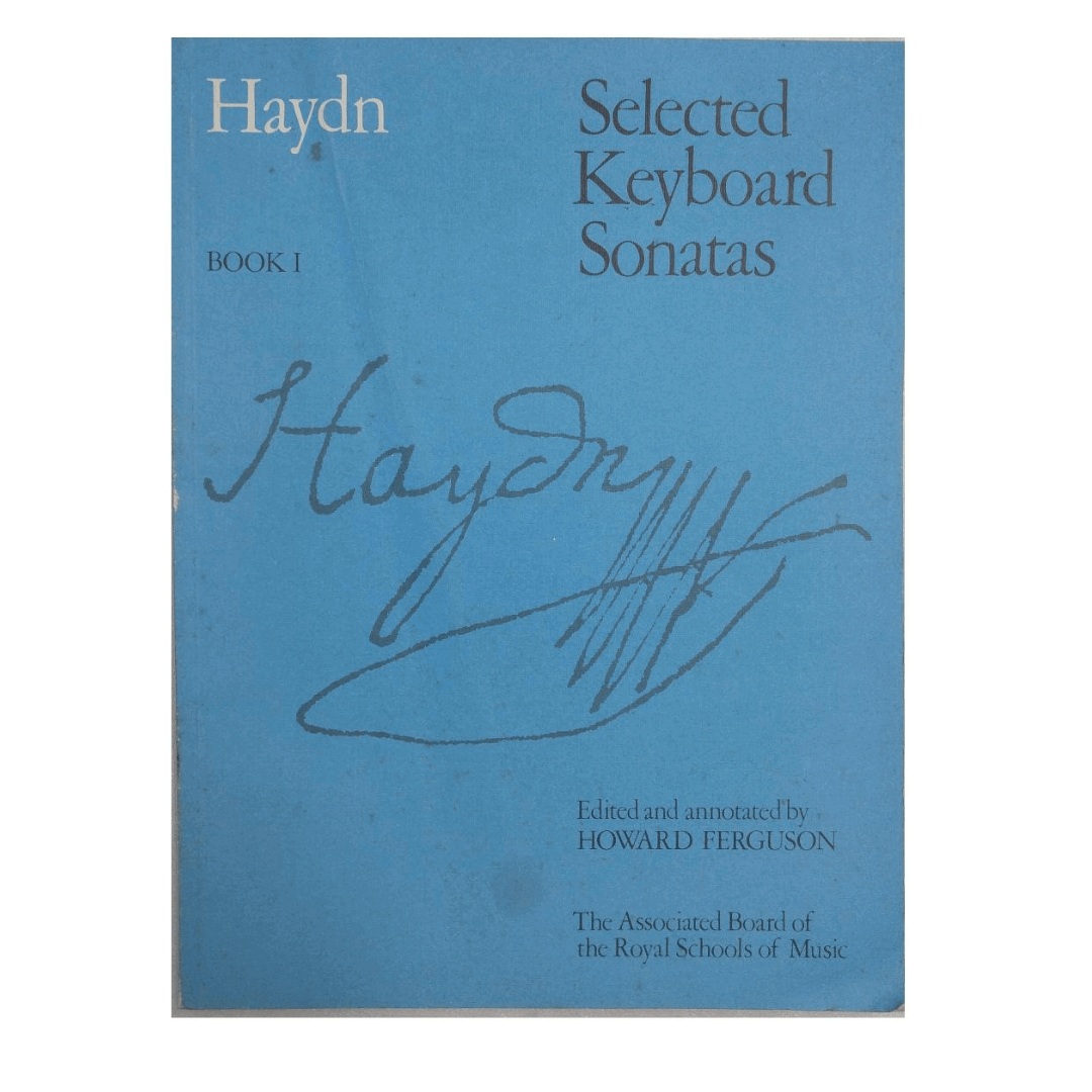 Haydn - Selected Keyboard Sonatas Book 1 - Edited and annotated by Howard Ferguson