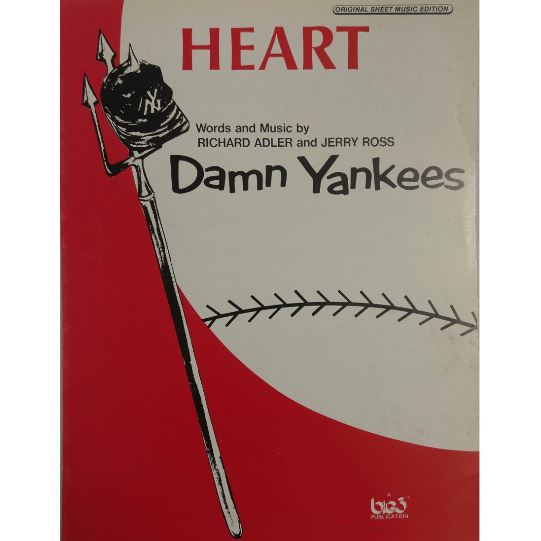 Heart - Words and Music by Richard Adler and Jerry Ross - Damn Yankees T2345HPV