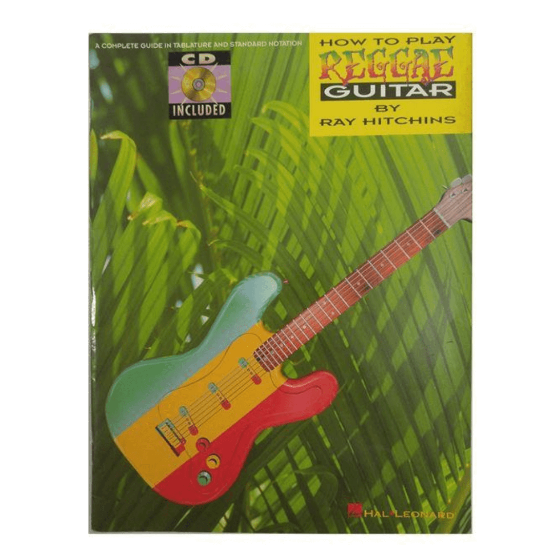 How To Play Reggae Guitar by Ray Hitchins (com CD )