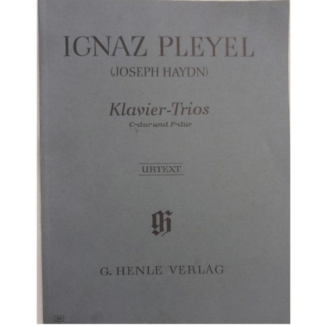 Ignaz Pleyel ( Joseph Haydn) Klavier- Trios C-dur und F-dur Urtext - G.Henle Verlag - 292
