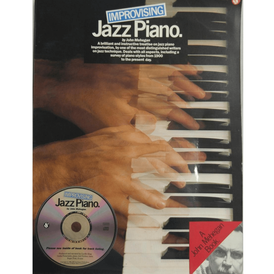 Improvising Jazz Piano by John Mehegan A brilliant and instructive treatise on jazz piano AM970552