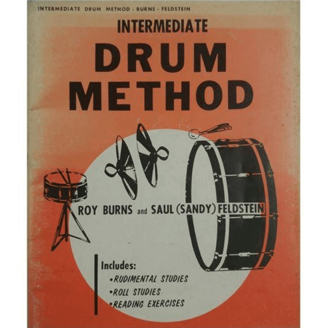 Intermediate Drum Method - Roy Burns and Saul ( Sandy ) Feldstein - HAB00100