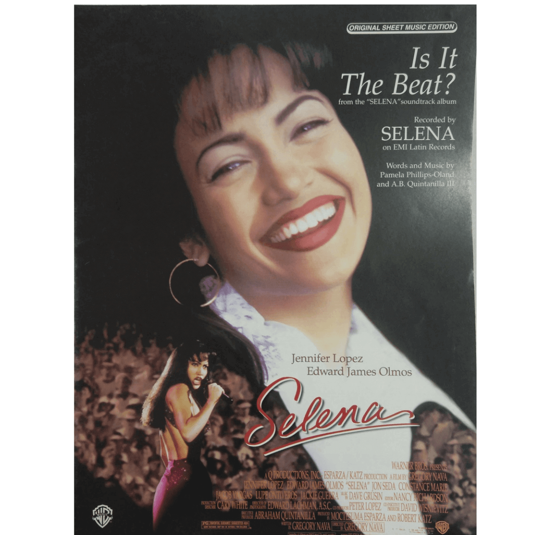 "Is It The Beat? From the ""Selena"" soundtrack album Jennifer Lopez PV9755"