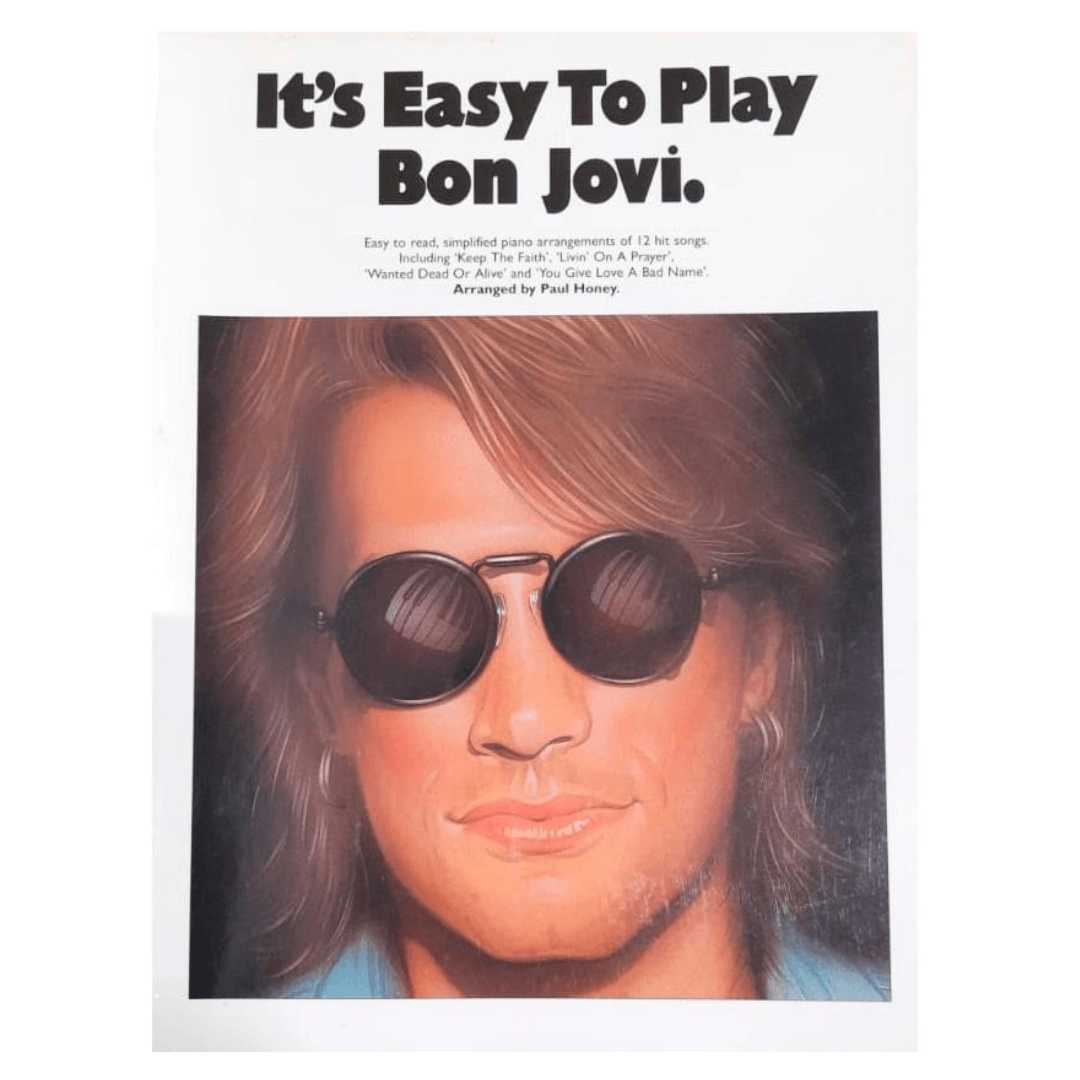 It's Easy To Play Bon Jovi. AM936287