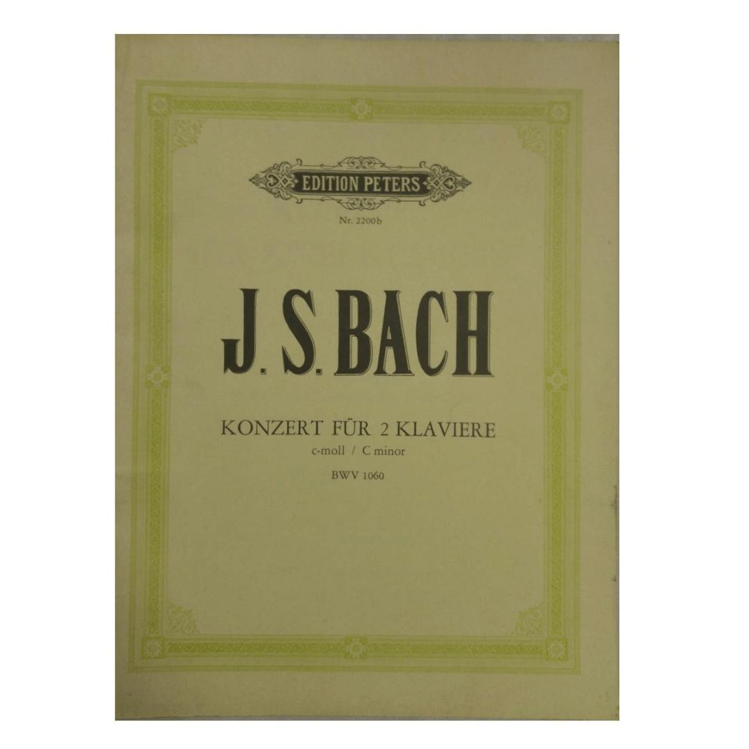 J.S. Bach Konzert fur 2 Klaviere c-moll / C minor BWV1060