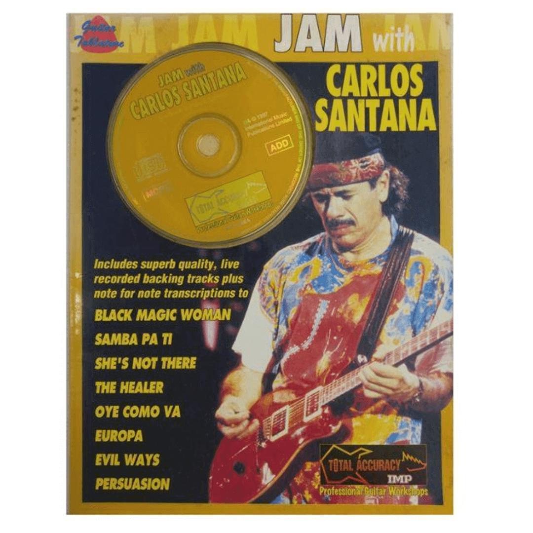 Jam with Carlos Santana (Book/CD) - 5368A