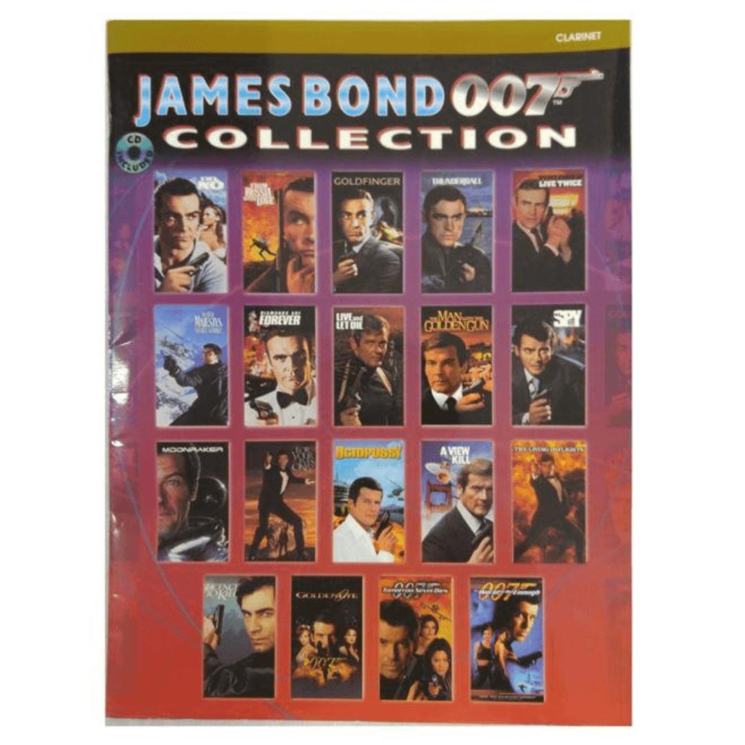 James Bond 007 Collection método para Clarinet ( Coleção James Bond 007 com CD ) IFM37CD