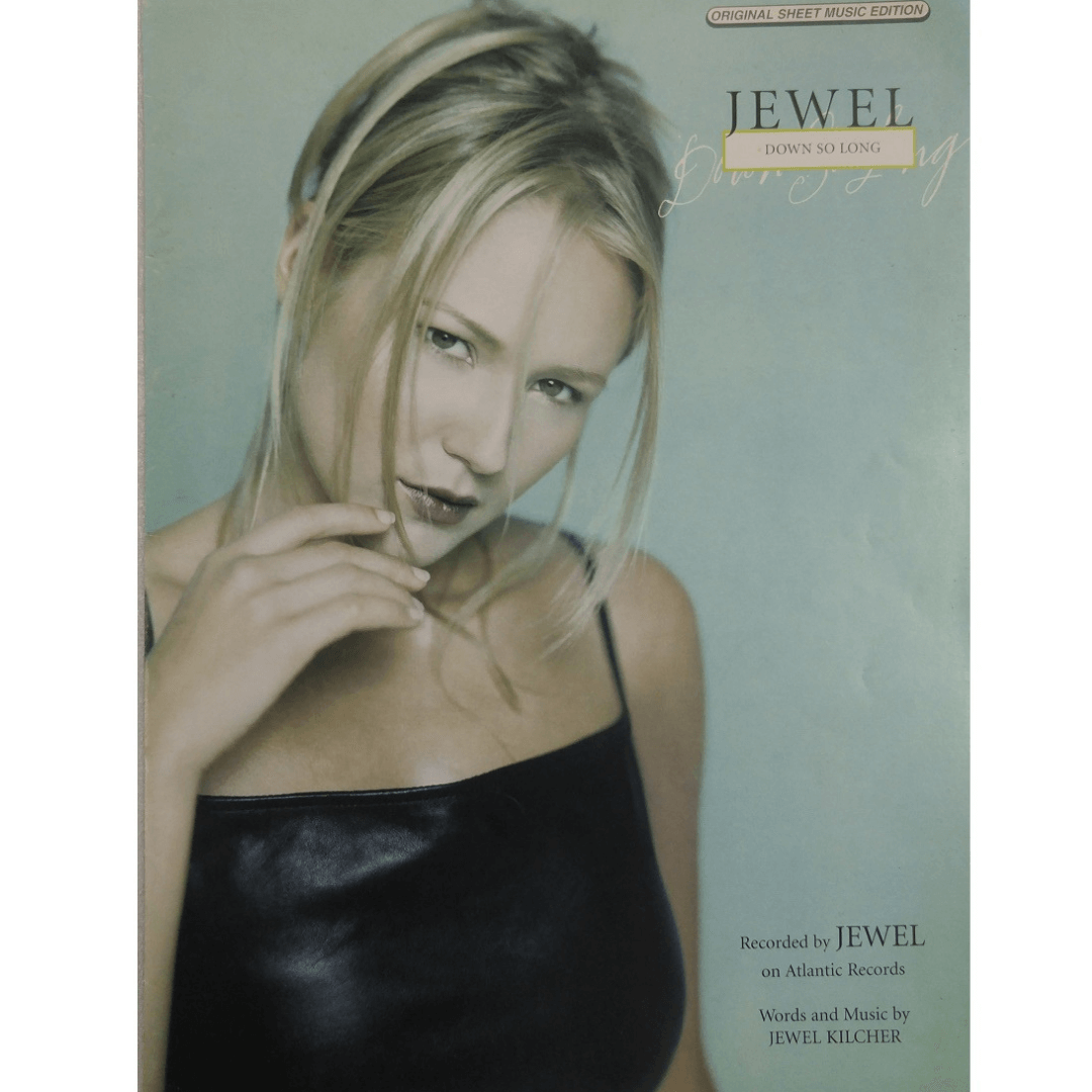 Jewel Down So Long - Recorded by Jewel on Atlantic Records PV9921