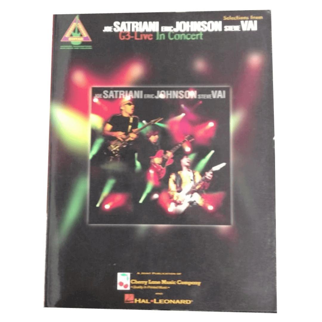 Joe Satriani Eric Johnson Steve VAI G3-Live In Concert - Guitar Recorded Versions - HL00690222