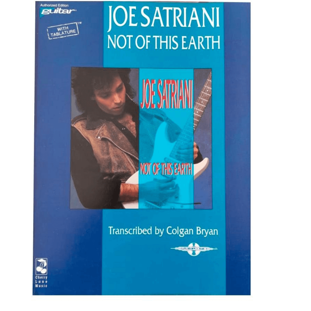 Joe Satriani Not Of This Earth - Guitar 02507074