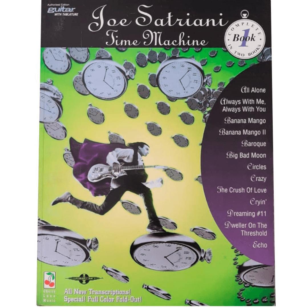 Joe Satriani Time Machine Book 1 Guitar / Vocal - 02501226