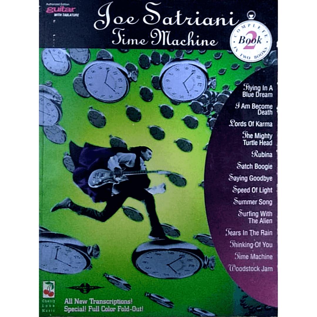 Joe Satriani Time Machine Book 2 Guitar / Vocal - 02501227