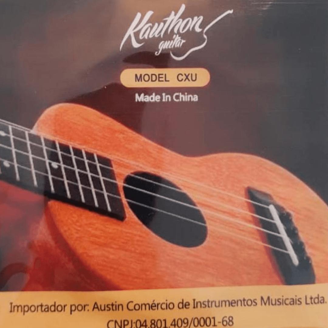 Jogo De Cordas Kauthon para Ukulele Completo - CXU
